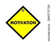 motivation black wording on... | Shutterstock . vector #384575734