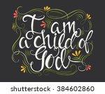 vector religions lettering   i... | Shutterstock .eps vector #384602860