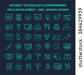 vector internet technology and... | Shutterstock .eps vector #384629959