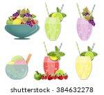 set clip art images of cold... | Shutterstock . vector #384632278