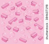 vector bubblegum illustration | Shutterstock .eps vector #384637198