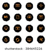 seo and development vector... | Shutterstock .eps vector #384645226