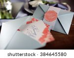 wedding decor | Shutterstock . vector #384645580