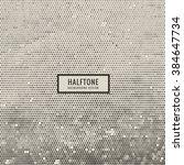 halftone dirty texture | Shutterstock .eps vector #384647734