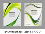 magazine  flyer  brochure and... | Shutterstock .eps vector #384647770