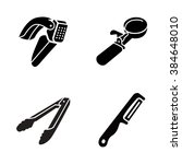 kitchenware vector icons | Shutterstock .eps vector #384648010