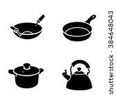 kitchenware vector icons | Shutterstock .eps vector #384648043