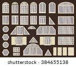 Vector Set Of Different Window...