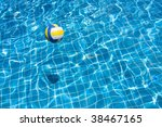 ball in the pool | Shutterstock . vector #38467165