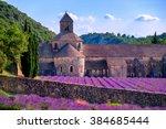 Blooming Purple Lavender Field...