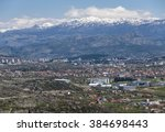 the capital of montenegro ... | Shutterstock . vector #384698443