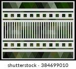 low polygon triangle pattern...   Shutterstock . vector #384699010