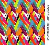 brushstrokes seamless bold... | Shutterstock .eps vector #384726229