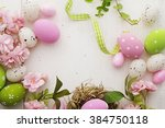 Colorful Easter Eggs Frame...