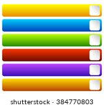 horizontal  colorful vivid... | Shutterstock . vector #384770803