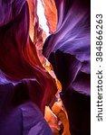 antelope canyon | Shutterstock . vector #384866263
