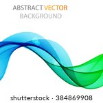abstract color wave | Shutterstock .eps vector #384869908