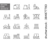 industry icons. | Shutterstock .eps vector #384877783
