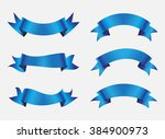 ribbon set.ribbon banner vector ... | Shutterstock .eps vector #384900973
