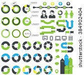 set of infographic elements ... | Shutterstock .eps vector #384902404