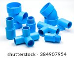Group Of Pvc Pipe Connections...