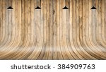 Wooden Wall And Floor With...