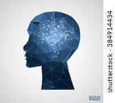 creative brain concept... | Shutterstock .eps vector #384914434