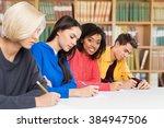 schooling. | Shutterstock . vector #384947506