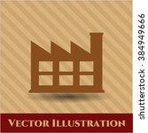 factory vector symbol | Shutterstock .eps vector #384949666
