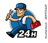 Plumber  He Is Running And...