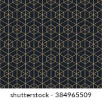 seamless tan blue and brown... | Shutterstock .eps vector #384965509