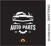 car parts icon  auto parts... | Shutterstock .eps vector #384970960