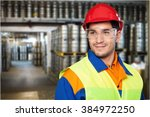 manual worker. | Shutterstock . vector #384972250