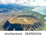 absolutely amazing aerial view... | Shutterstock . vector #384983206