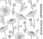 seamless vector pattern with... | Shutterstock .eps vector #384983698