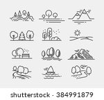 Nature Landscape Icons