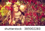 fall lifestyle concept  harmony ... | Shutterstock . vector #385002283
