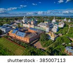 aerial view of rostov the great ... | Shutterstock . vector #385007113