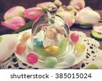 Easter Table Decoration With...