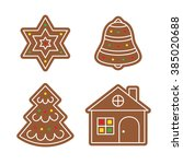 vector icons of cookies for...