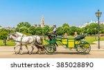 fiacre  vienna   | Shutterstock . vector #385028890