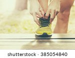 sport  fitness  exercise and... | Shutterstock . vector #385054840