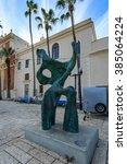 tel aviv  israel   december 28  ... | Shutterstock . vector #385064224