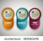 business infographic design  | Shutterstock .eps vector #385082698