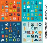 set of medicine icons | Shutterstock .eps vector #385099264