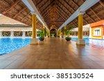 lobby  gallery  promenade of...   Shutterstock . vector #385130524