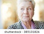 Portrait Of A Beautiful Senior...