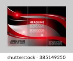 professional business three... | Shutterstock .eps vector #385149250