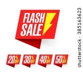 flash sale  deal of the day... | Shutterstock .eps vector #385163623