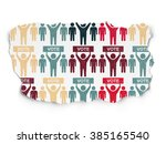 political concept  election... | Shutterstock . vector #385165540